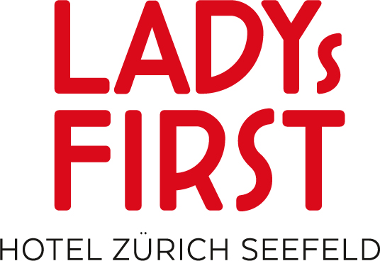 Lady's First Logo