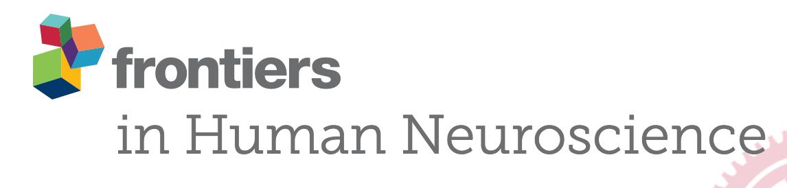 Fontiers in Human Neuroscience